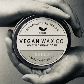 NAKED Vegan Massage Wax - B&W