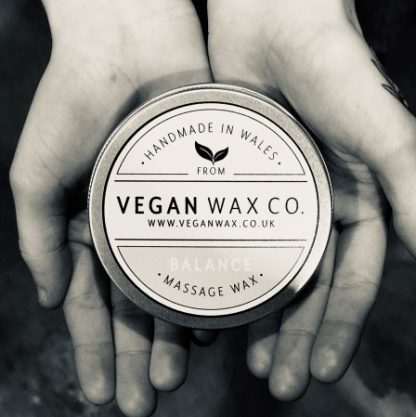 BALANCE Vegan Massage Wax - B&W