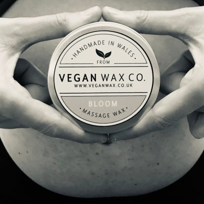 BLOOM Vegan Massage Wax - B&W
